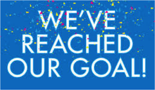 Image result for goal reached